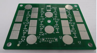 0.3mm Green 2 Layer Aluminium PCB Board Fabrikasi 6 Mil Metal Core PCB Prototipe